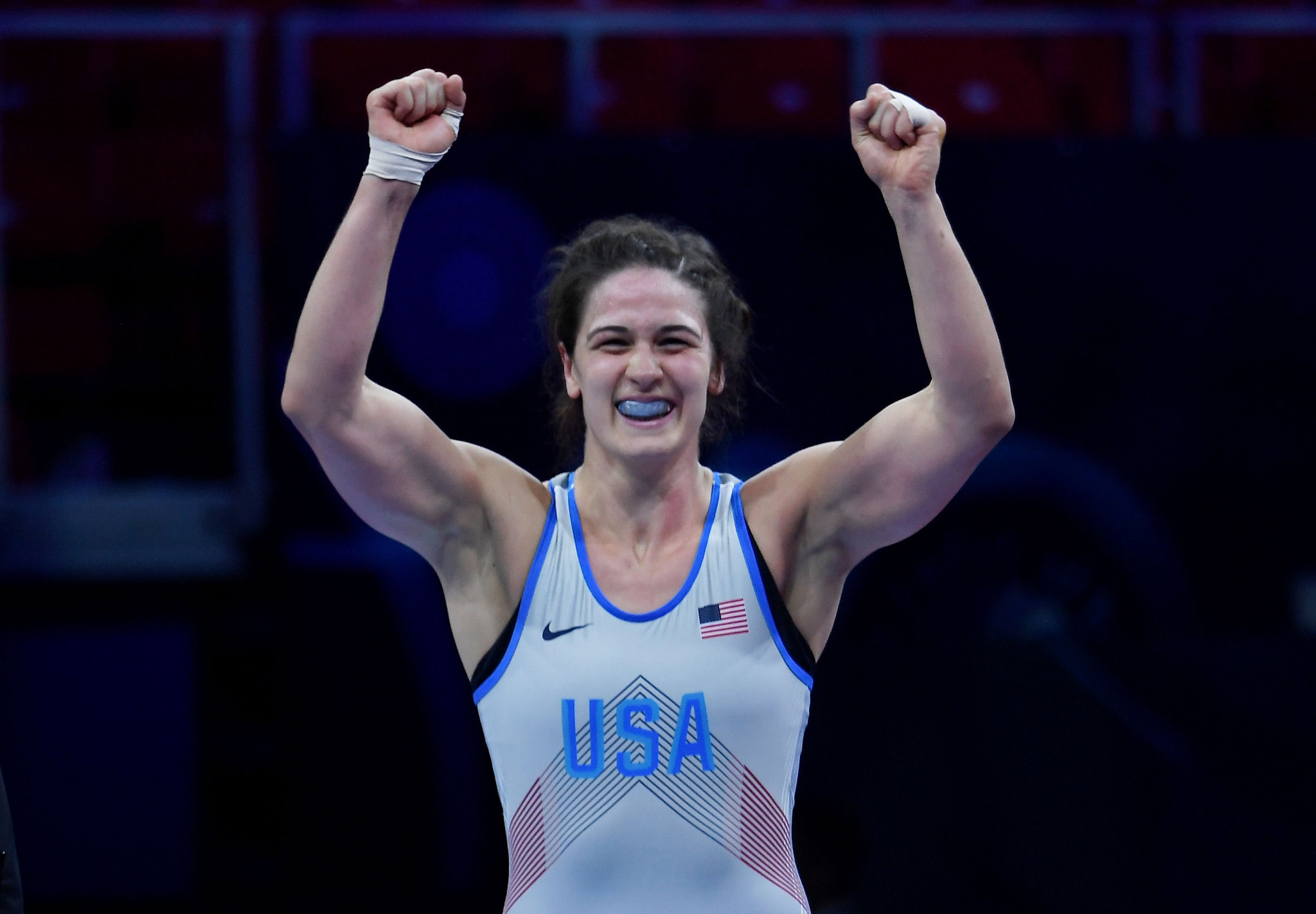 Gray among winners as women's competition concludes at Pan American Wrestling Championships