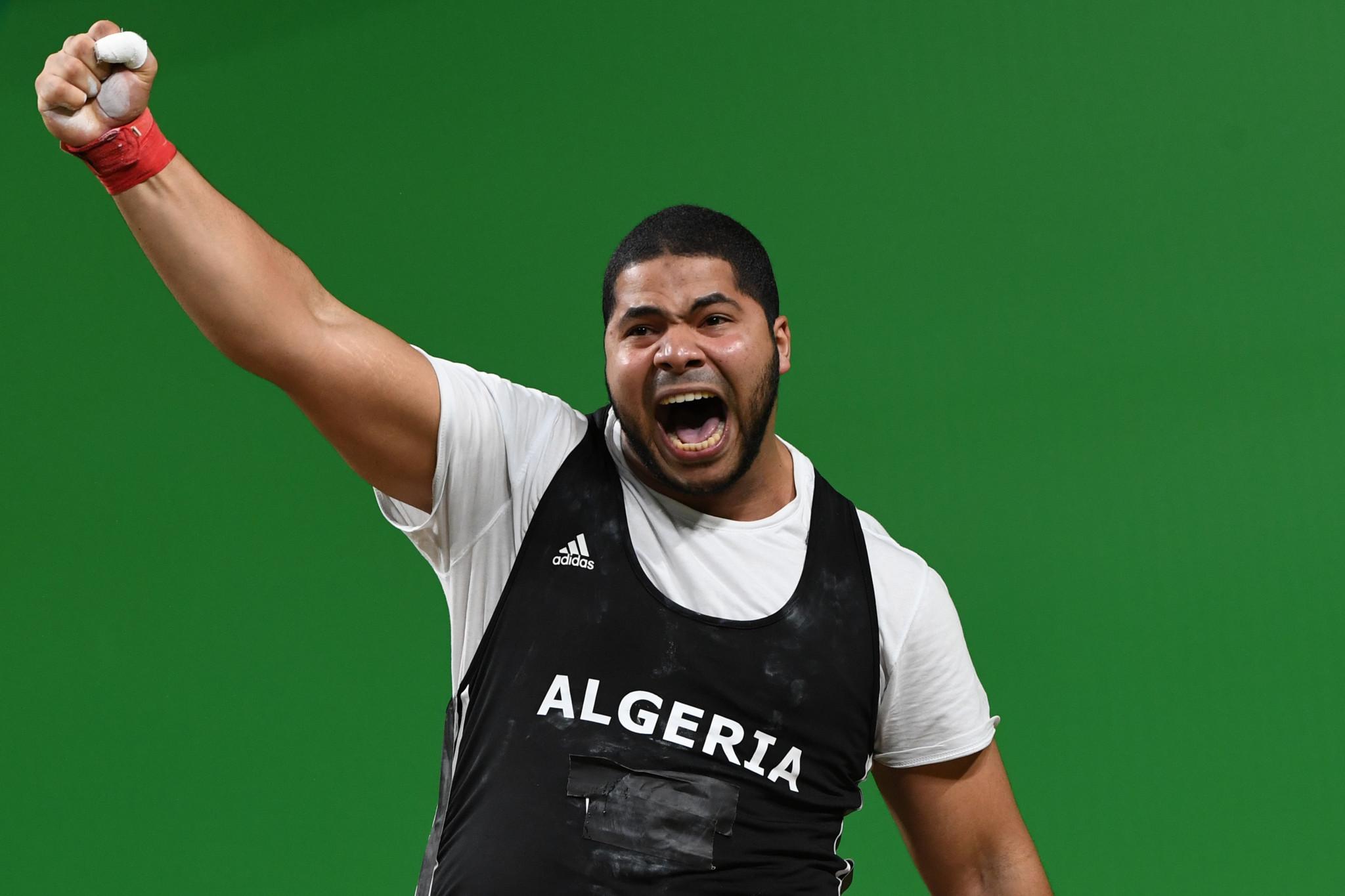 Algerian super-heavyweight Bidani sets record at African Weightlifting Championships