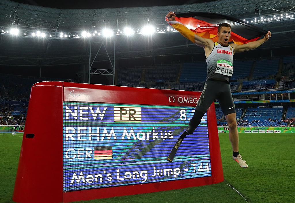 Marcus Rehm, mistrz Niemiec w skoku w dal z Rio 2016 T44, będzie sędziował na rozpoczynających się jutro Mistrzostwach Europy w Para Lekkoatletyce w polskim mieście Bydgos © Getty Images