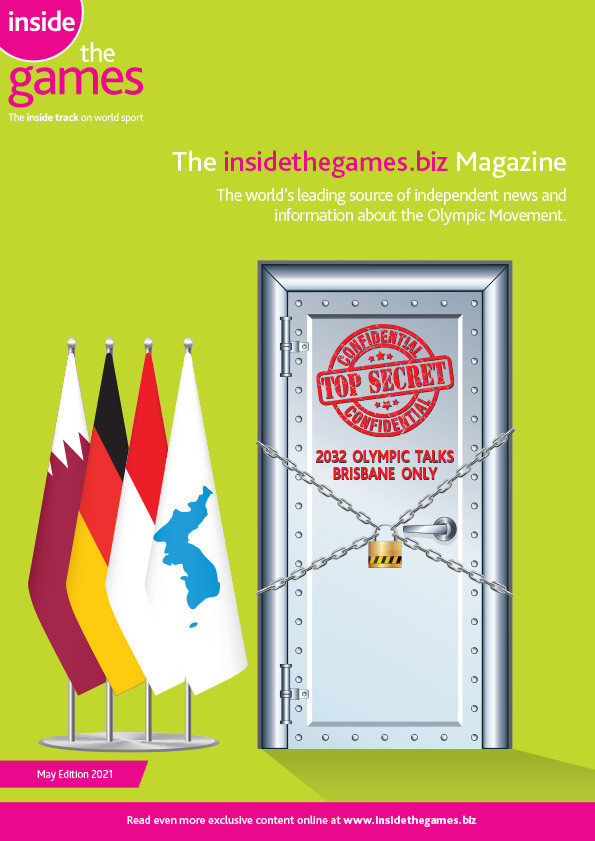 The insidethegames.biz Magazine May Edition 2021