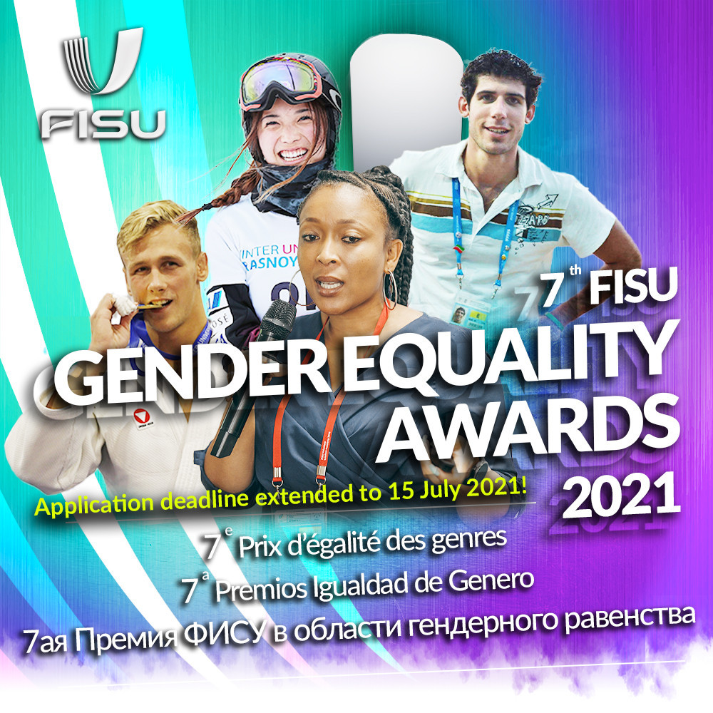 New individual prize in seventh edition of FISU Gender Equality Awards