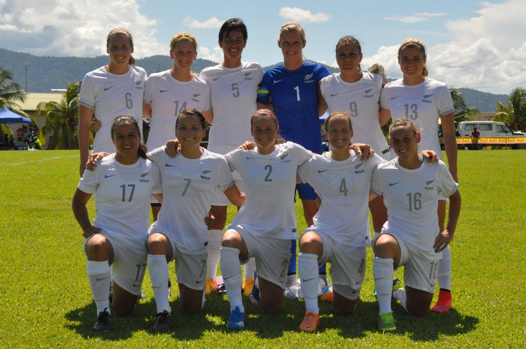 New Zealand have been awarded a place in the Rio 2016 women's Olympic football tournament ©Facebook/Oceania Football Confederation