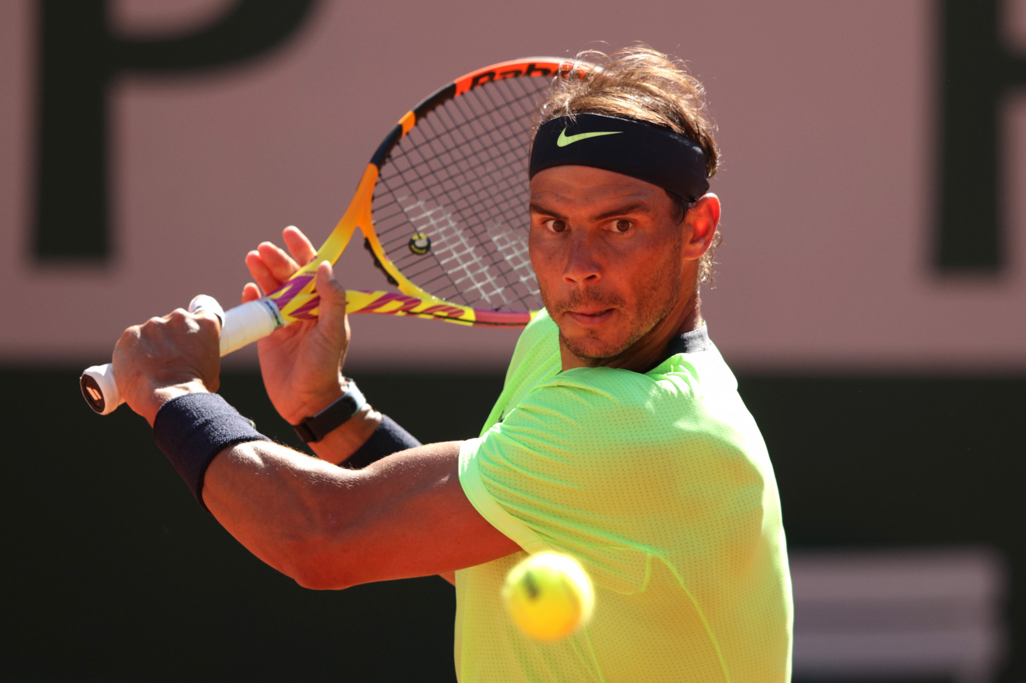 Defending champion Nadal eases through opening test at French Open
