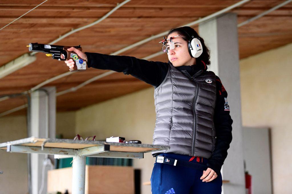 France's Lamolle wins women's 25m pistol gold at European Shooting Championships