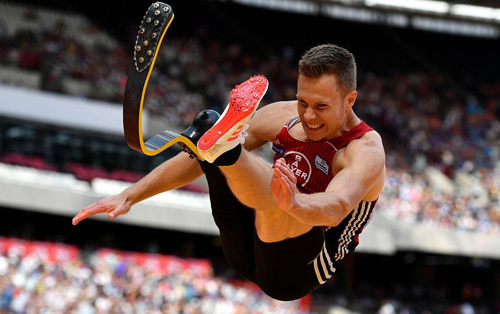 Rehm sets landmark world T64 long jump record of 8.62m at European Para Athletics Championships