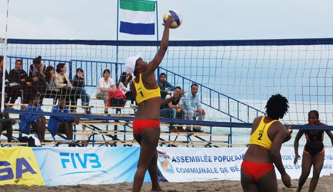 Beach volleyball is one sport bound to feature at the first African Beach Games