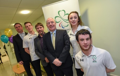 OCS sponsor Irish team for second consecutive Paralympic Games