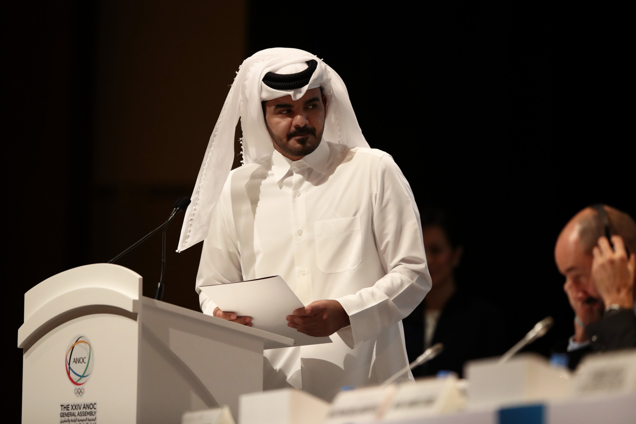 QOC President Sheikh Joaan bin Hamad Al-Thani said his organisation wanted to repay Olympics organisers ahead of Tokyo 2020 ©Getty Images