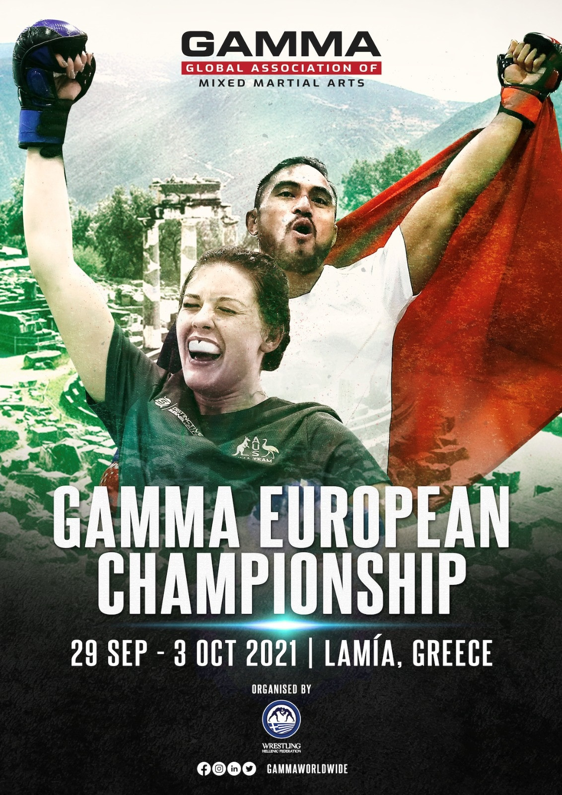 The GAMMA has decided to move the European Championship from Prague due to COVID-19 restrictions ©GAMMA
