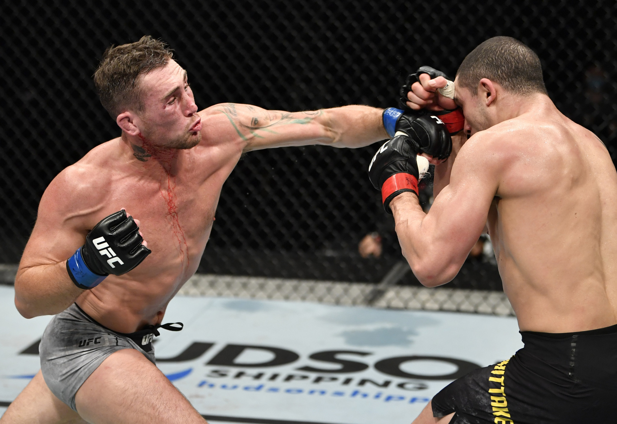 The UFC made the UAE its home for its Fight Island events ©Getty Images