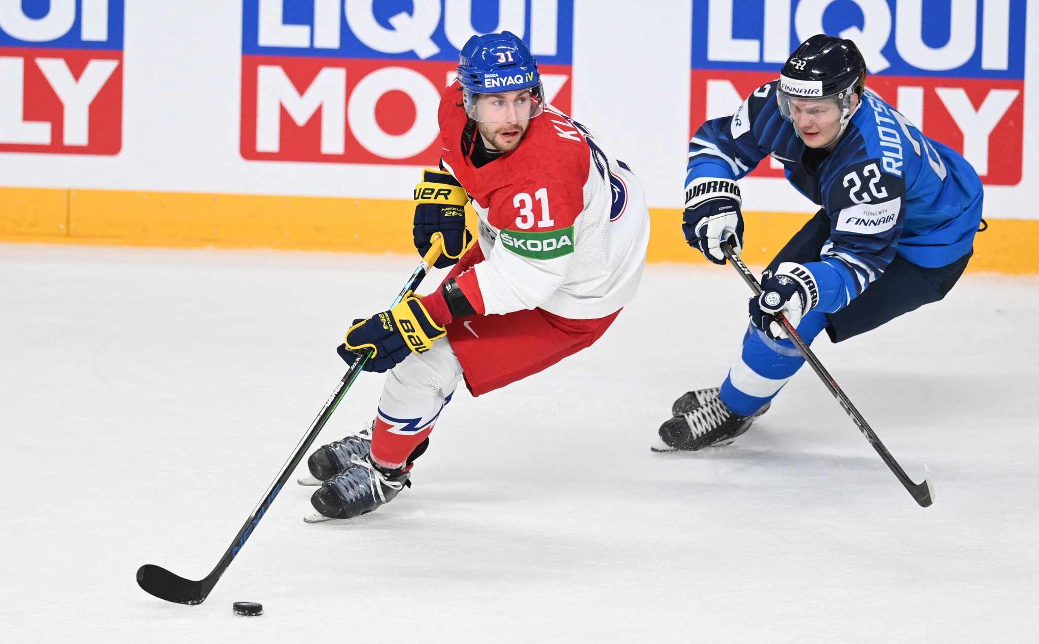 Germany victorious in shoot-out as defending champions Finland edge through in IIHF World Championship semi-finals