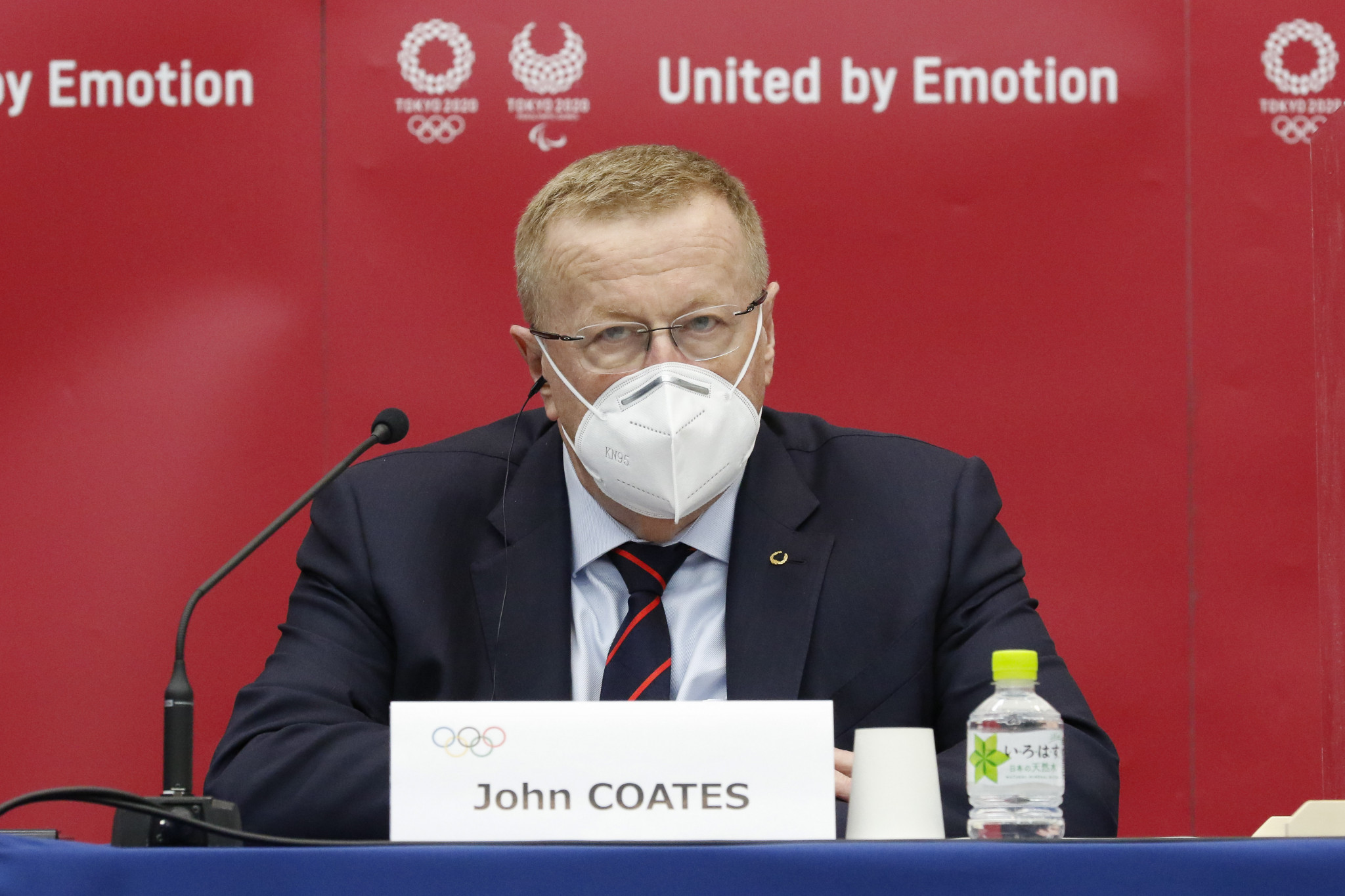 IOC vice-president John Coates has been criticised by some for saying that the Games could be held while Tokyo was under a state of emergency ©Getty Images