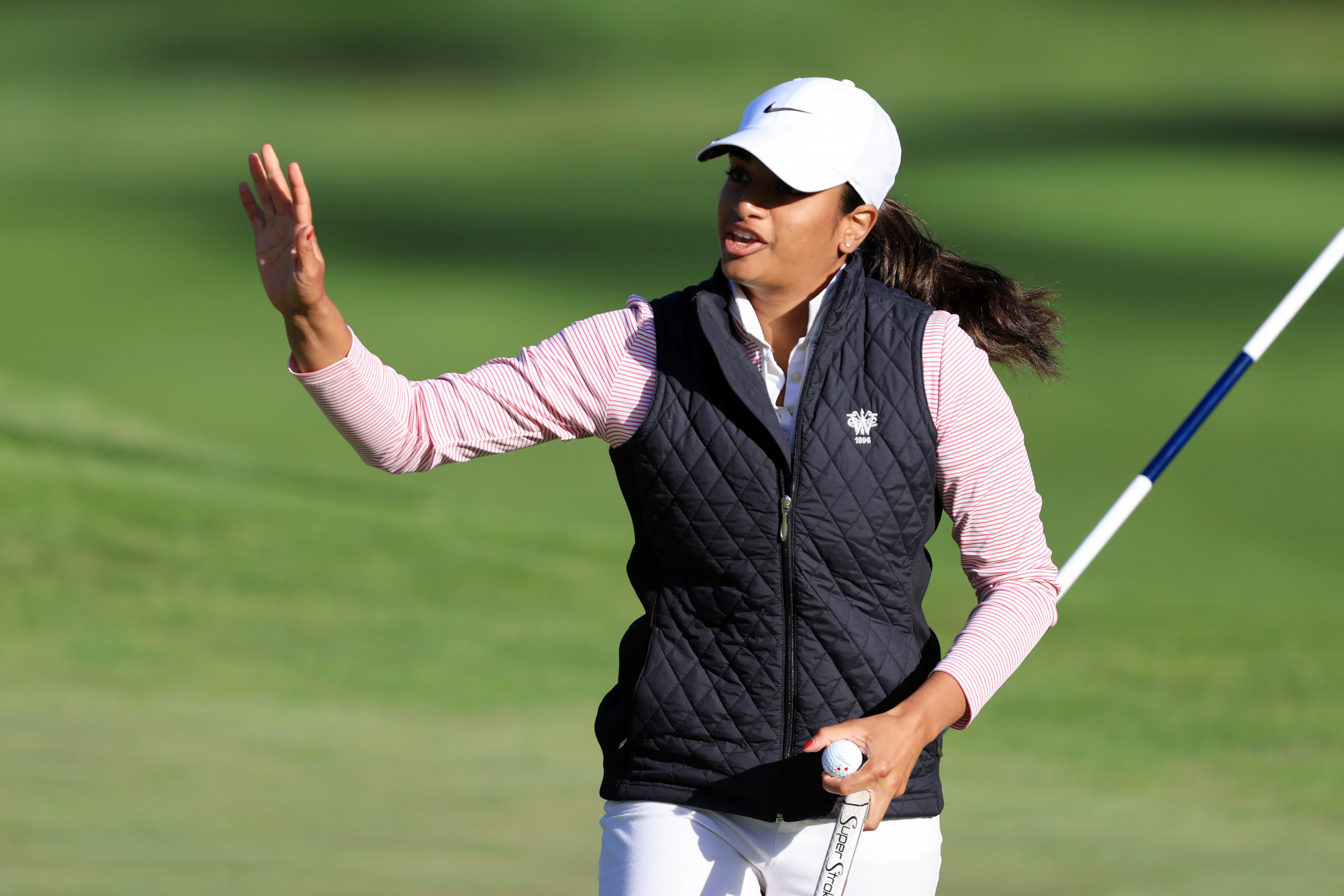 Amateur Ganne shares lead after first round of US Women's Open
