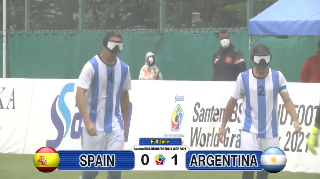 Argentina to meet Japan in Blind Football World Grand Prix final after Spain win