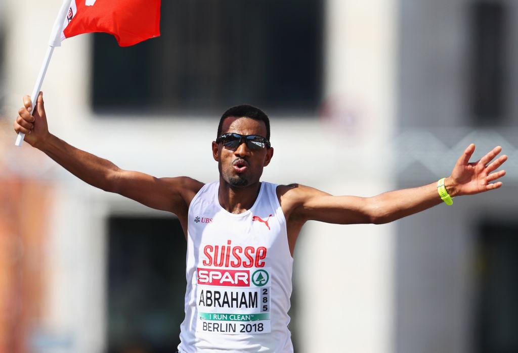 Switzerland's European marathon silver medallist Tadesse Abraham will participate as an ambassador in the World Athletics Run Smarter City Challenge that gets underway tomorrow in Lausanne and Geneva ©Getty Images