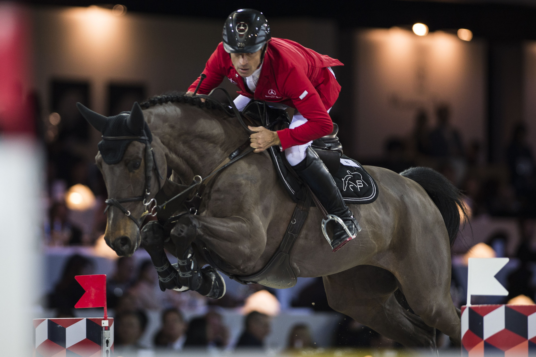 Schwizer claims win on first day of Global Champions Tour in Valkenswaard