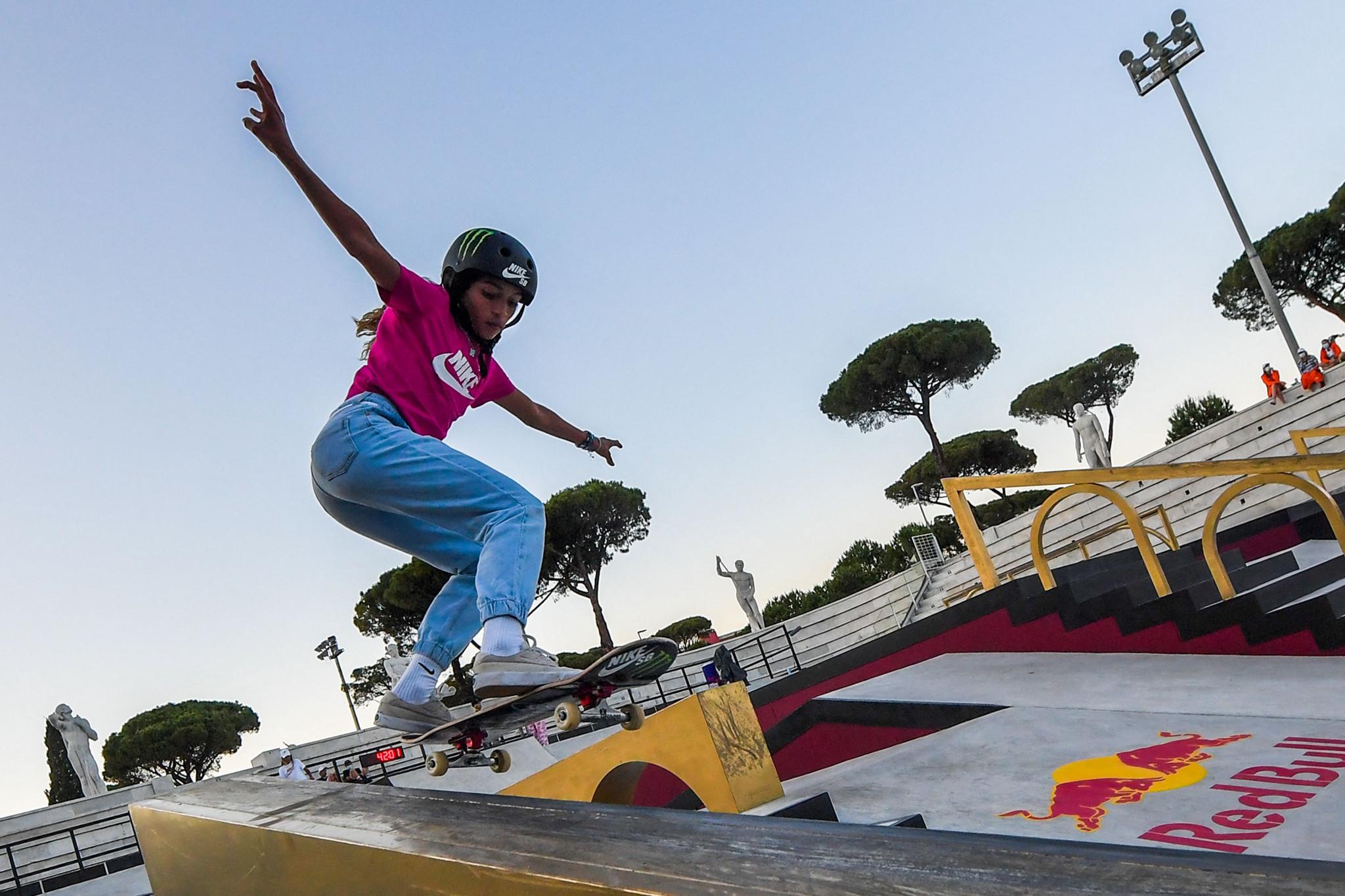 Leal stars in semi-finals at Street Skateboarding World Championships