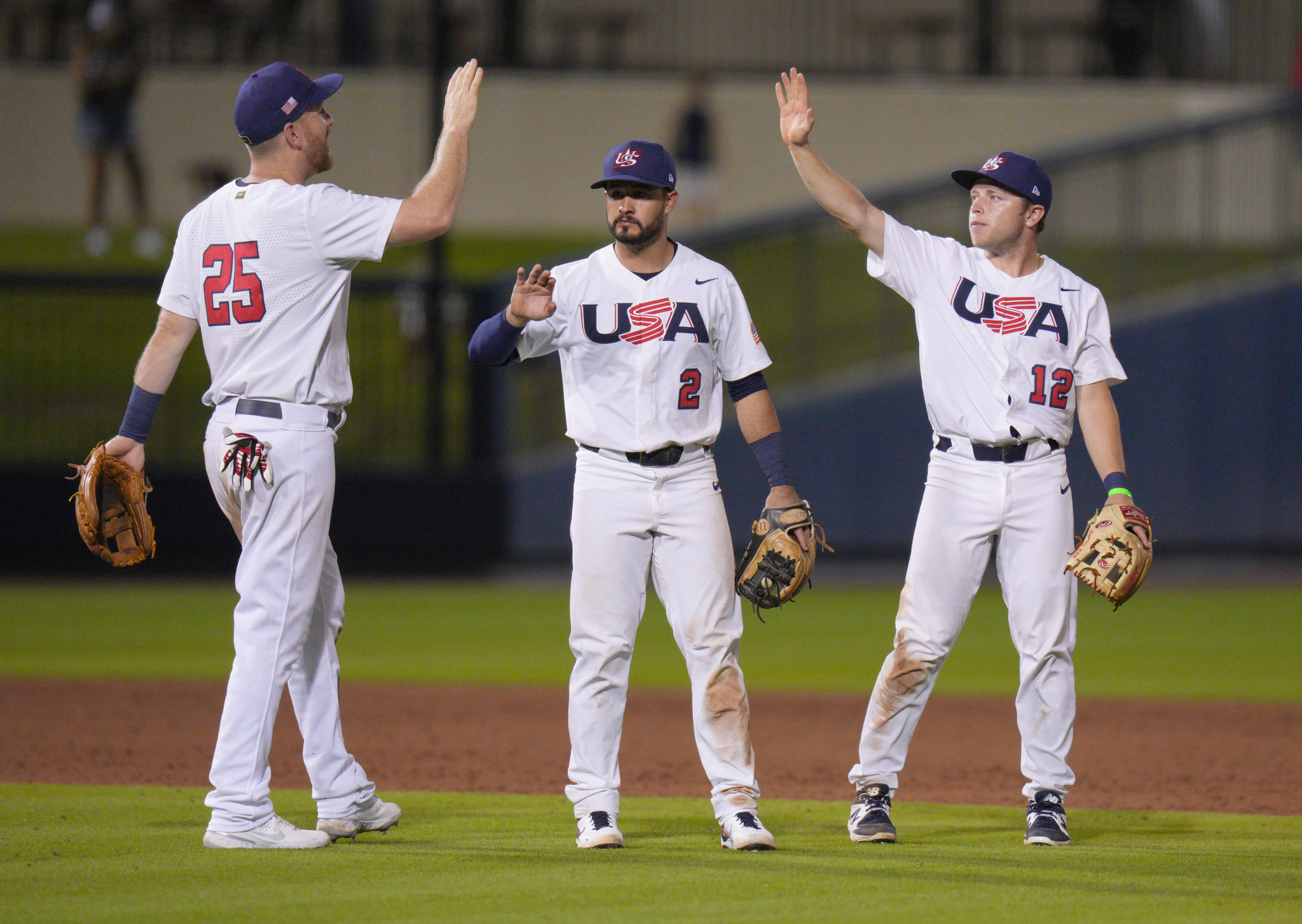 US defeat Canada to move within a win of Olympic baseball berth