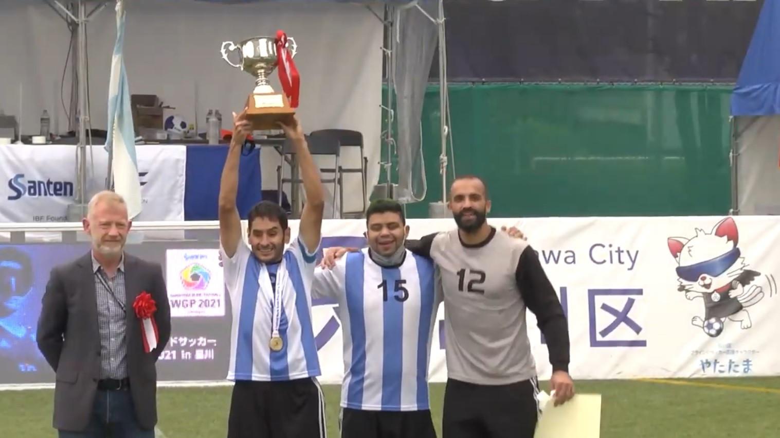 Argentina beat hosts Japan to win Blind Football World Grand Prix