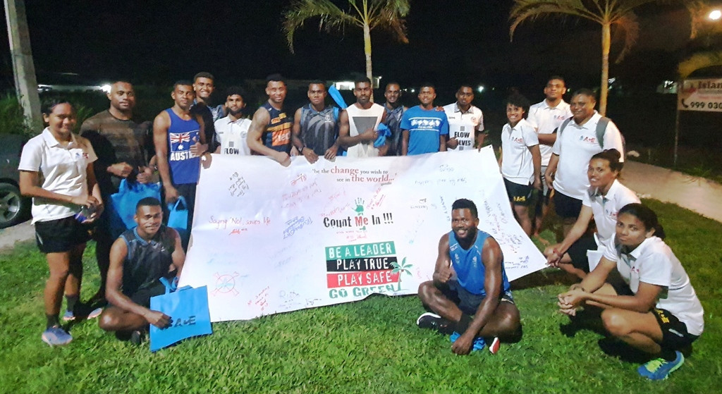 FASANOC's Voice of the Athletes program seeks to promote several key messages © FASANOC