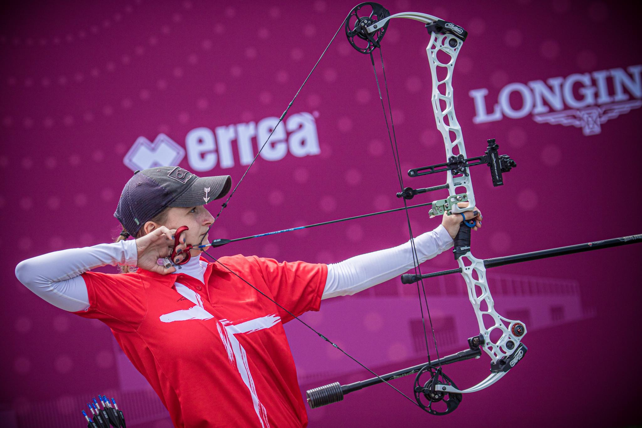 Tanja Gellenthien v Ella Gibson – compound women gold | Antalya 2021 European Archery Championships
