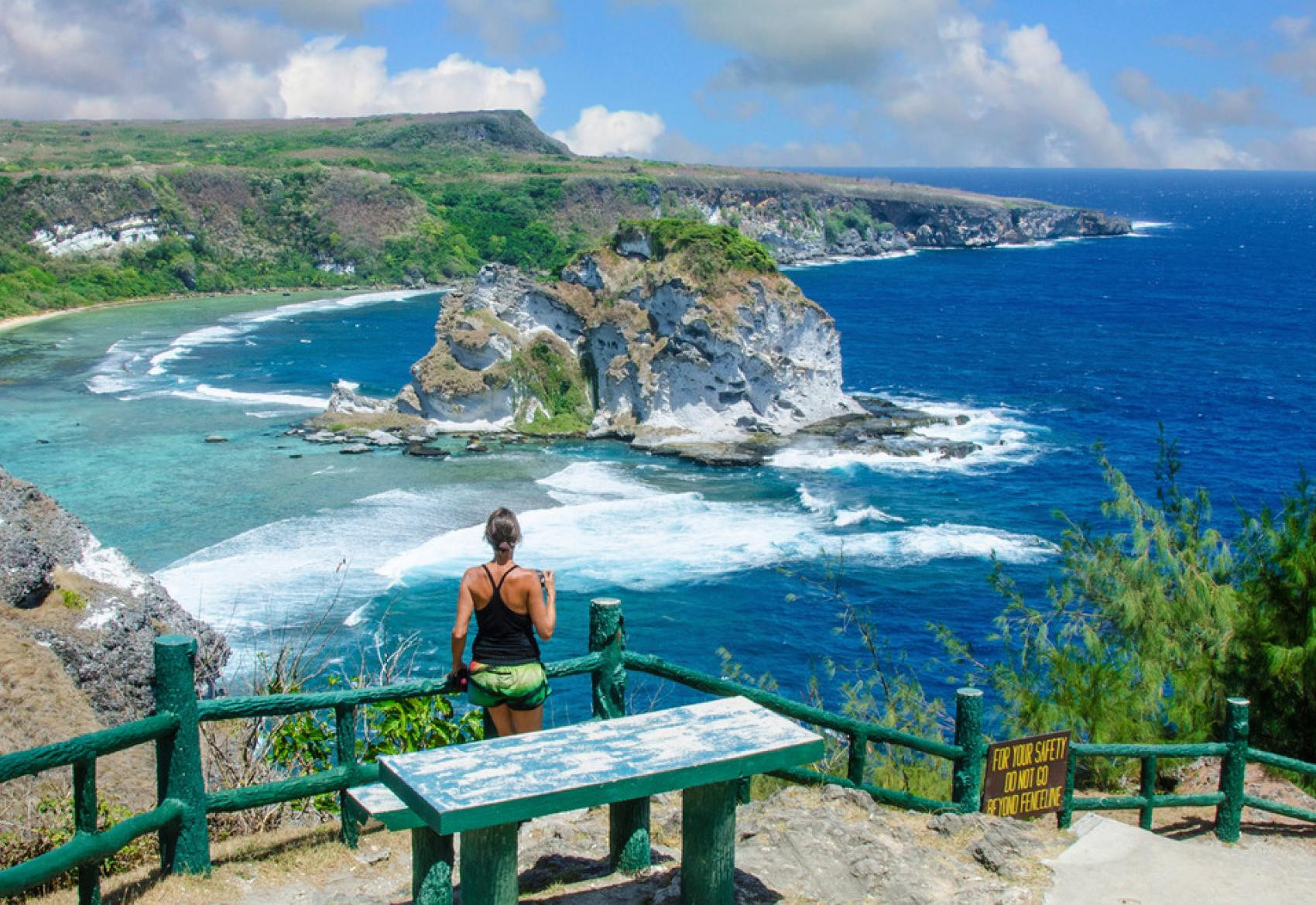 The Northern Mariana Islands has been relatively unaffected by COVID-19 but the global pandemic has badly hit its tourism market ©CNMI Government