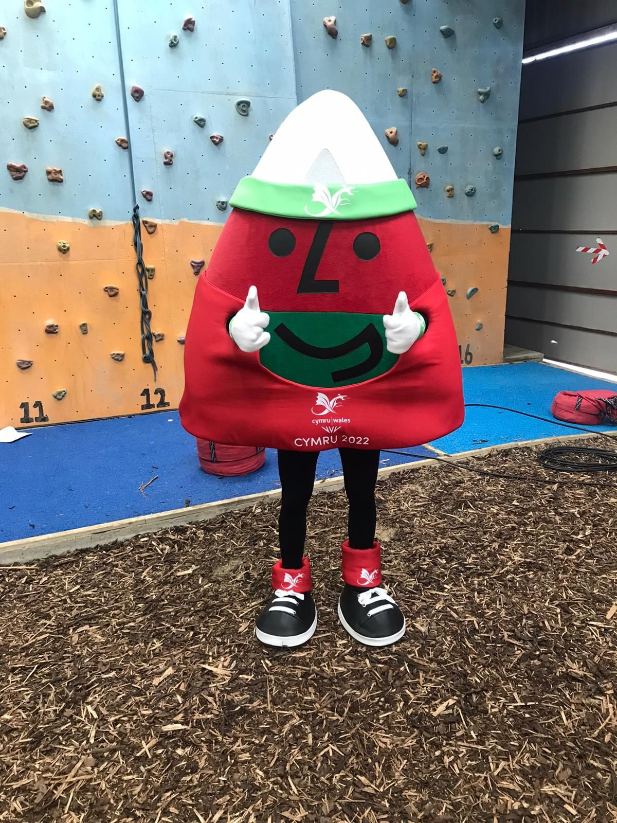 Mistar Urdd is set to make a number of public appearances in the build-up to Birmingham 2022 ©Twitter/TeamWales