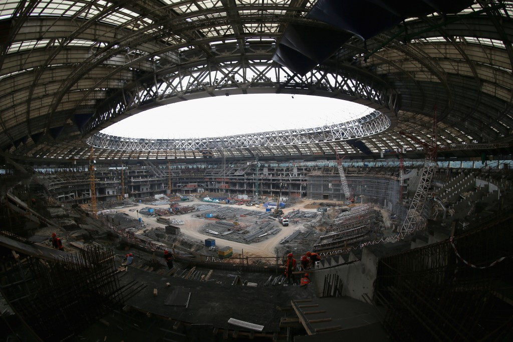 SIS Pitches will produce a partly artificial surface for the Luzhniki Stadium ©Getty Images