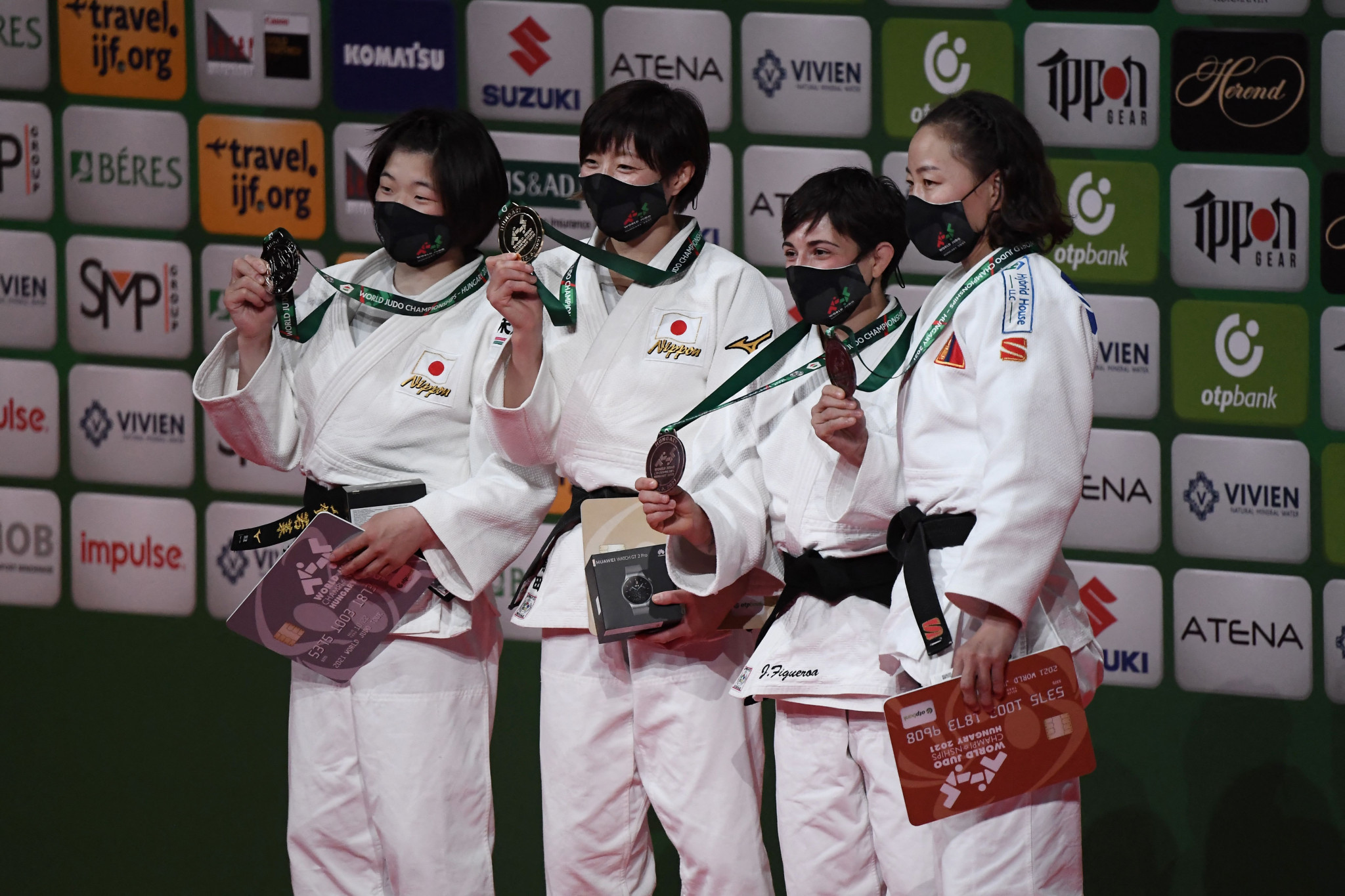 Tsunoda wins all-Japanese final to claim opening-day gold at World Judo Championships