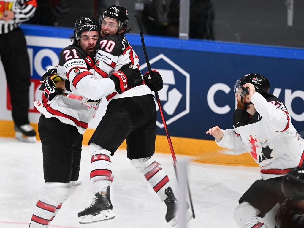 Overtime goal earns Canada revenge win over Finland in men's world ice hockey final