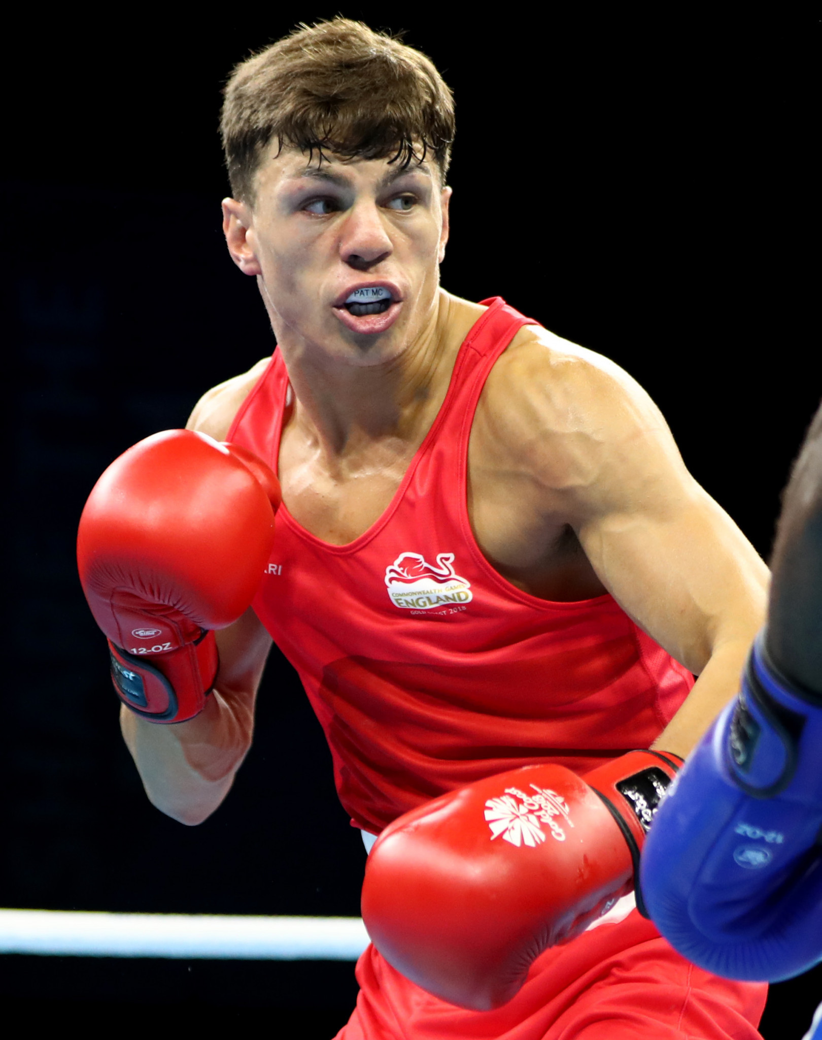 Britain's Pat McCormack was an emphatic quarter-final winner in the Tokyo 2020 European Olympic boxing qualifier ©Getty Images