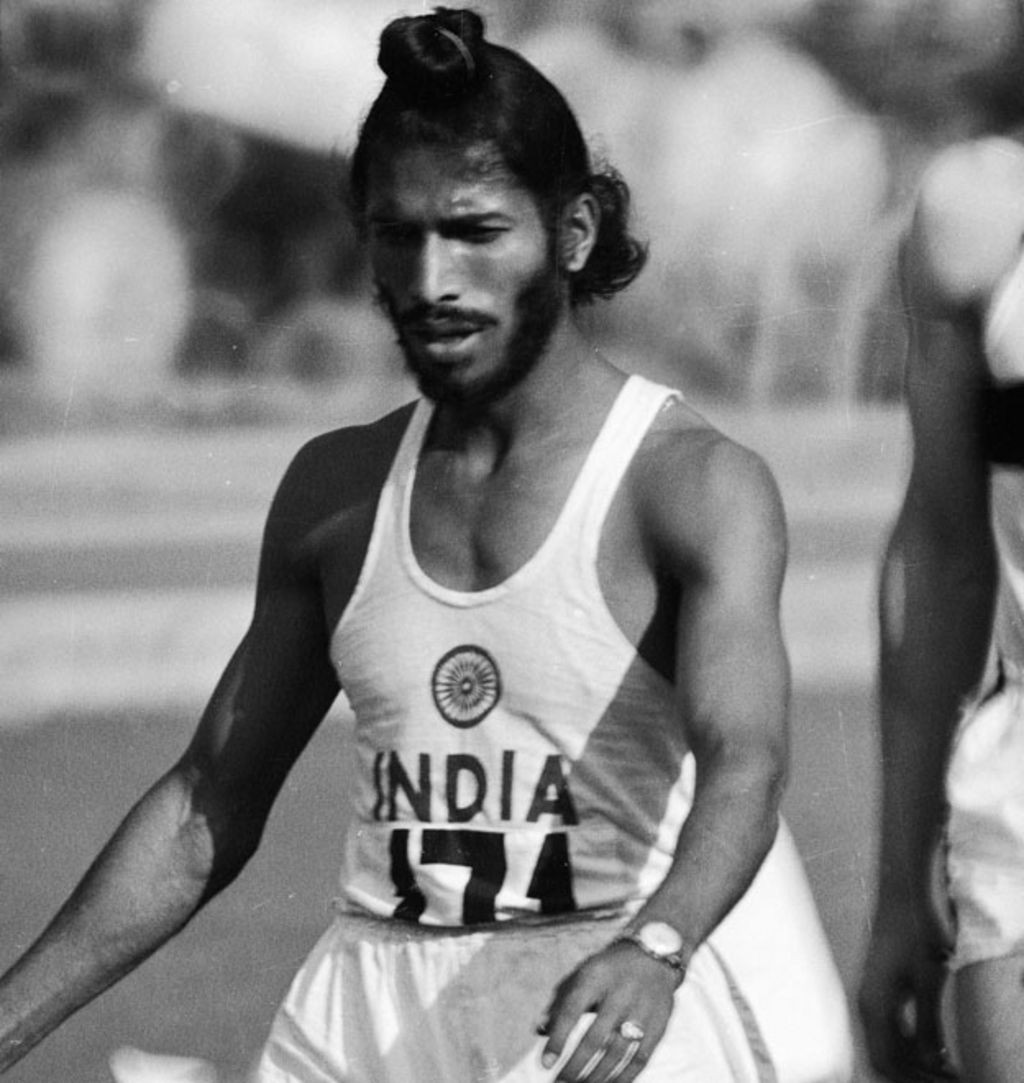 Milkha Singh won the Commonwealth Games gold medal in the 440 yards at Cardiff 1958 ©Getty Images