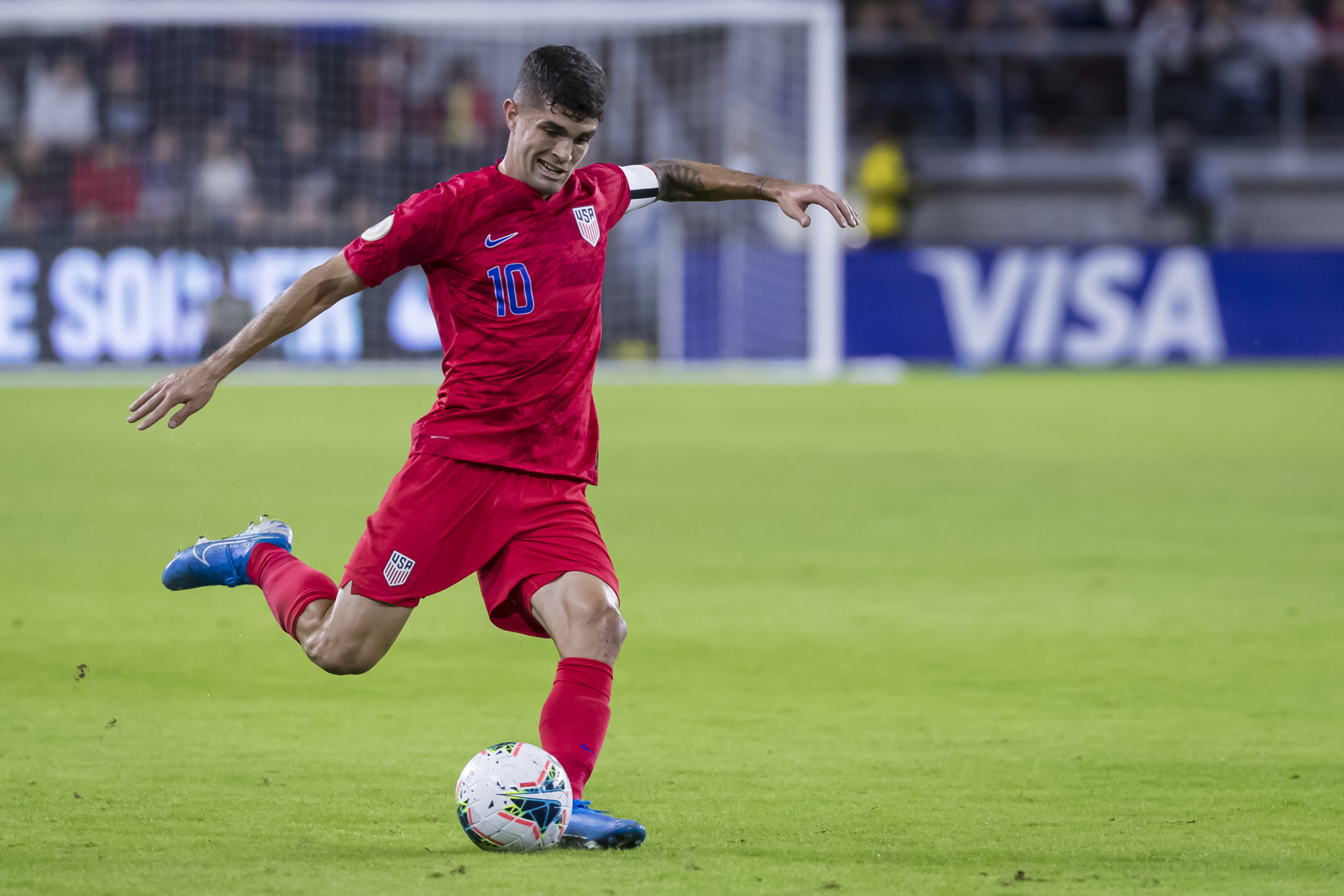 Pulisic scores extra time winner to crown US inaugural CONCACAF Nations League winners