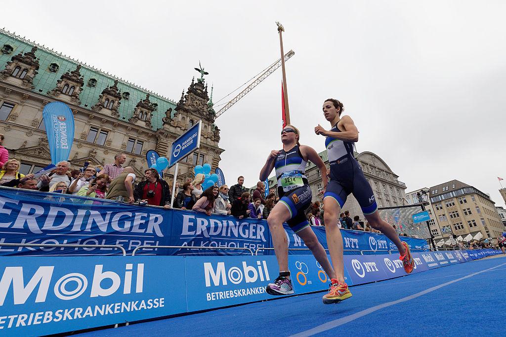 Ellis wins big on home leg of World Triathlon Para Championships in Leeds