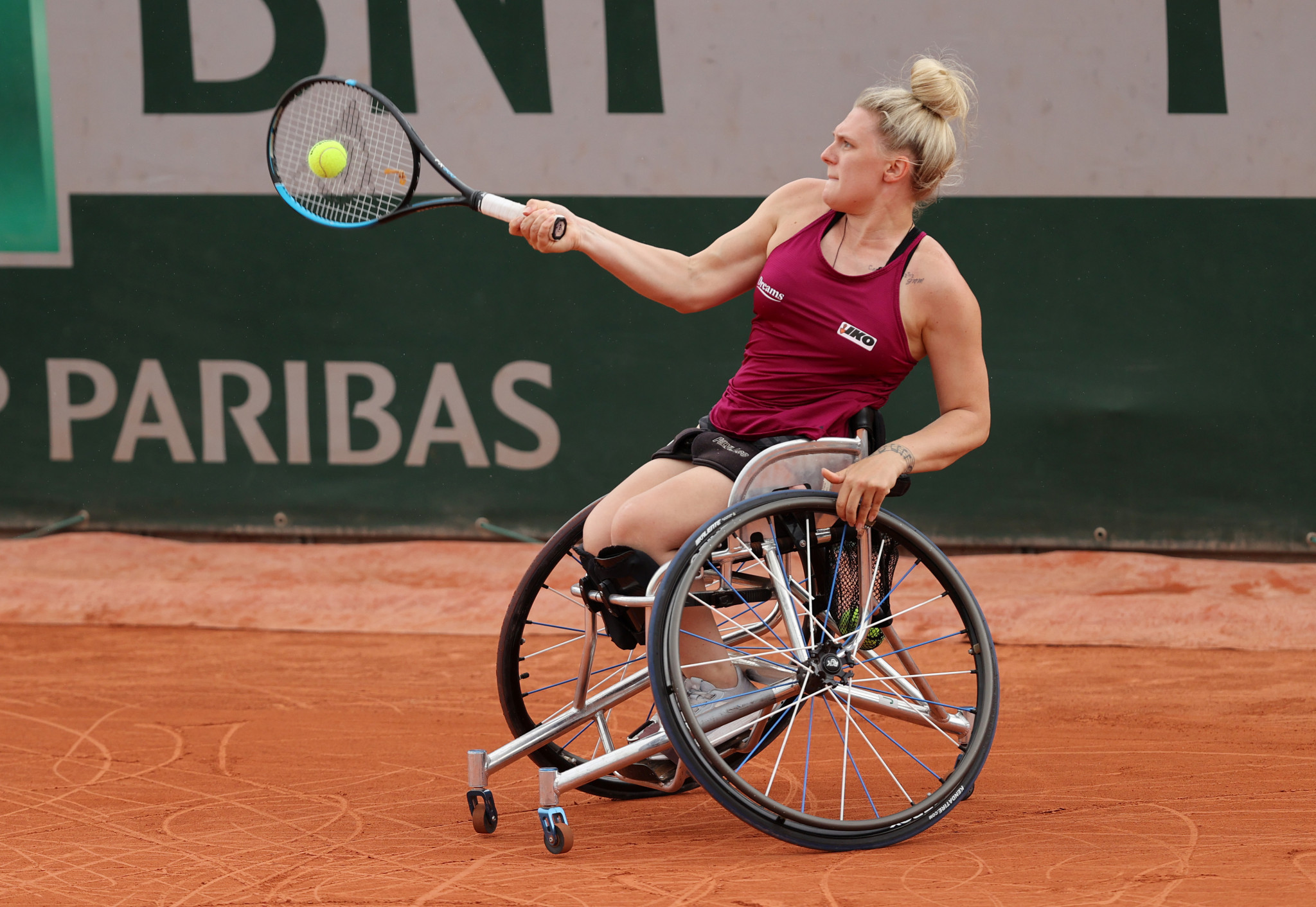 Jordanne Whiley is one of the top women's singles qualifiers ©Getty Images