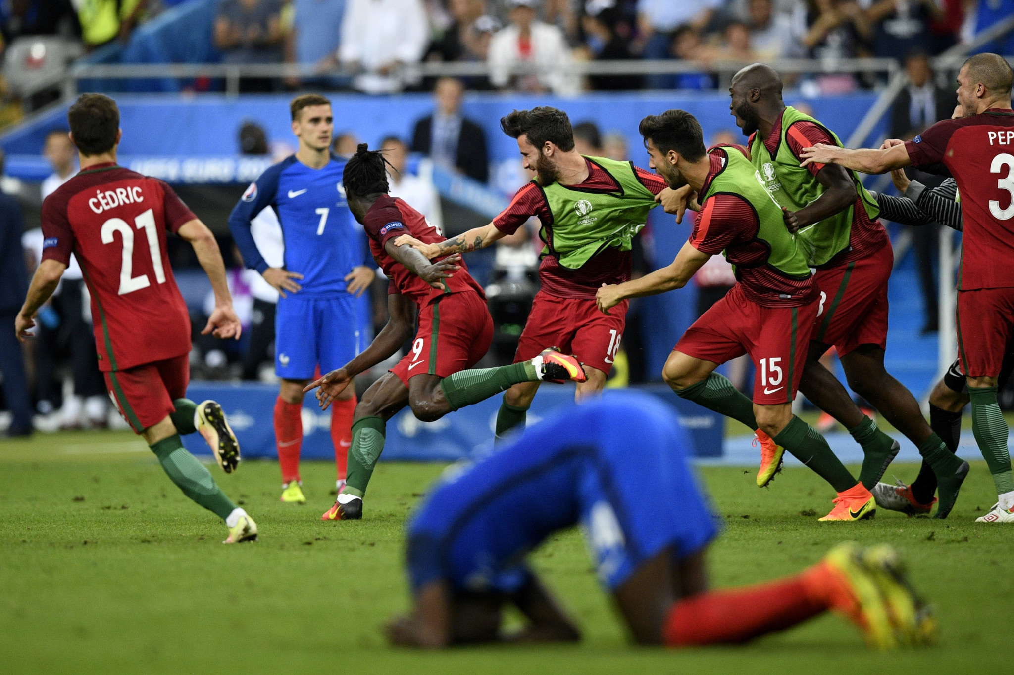 France appeared set to win Euro 2016 on home turf, but were upset by Portugal in the final ©Getty Images