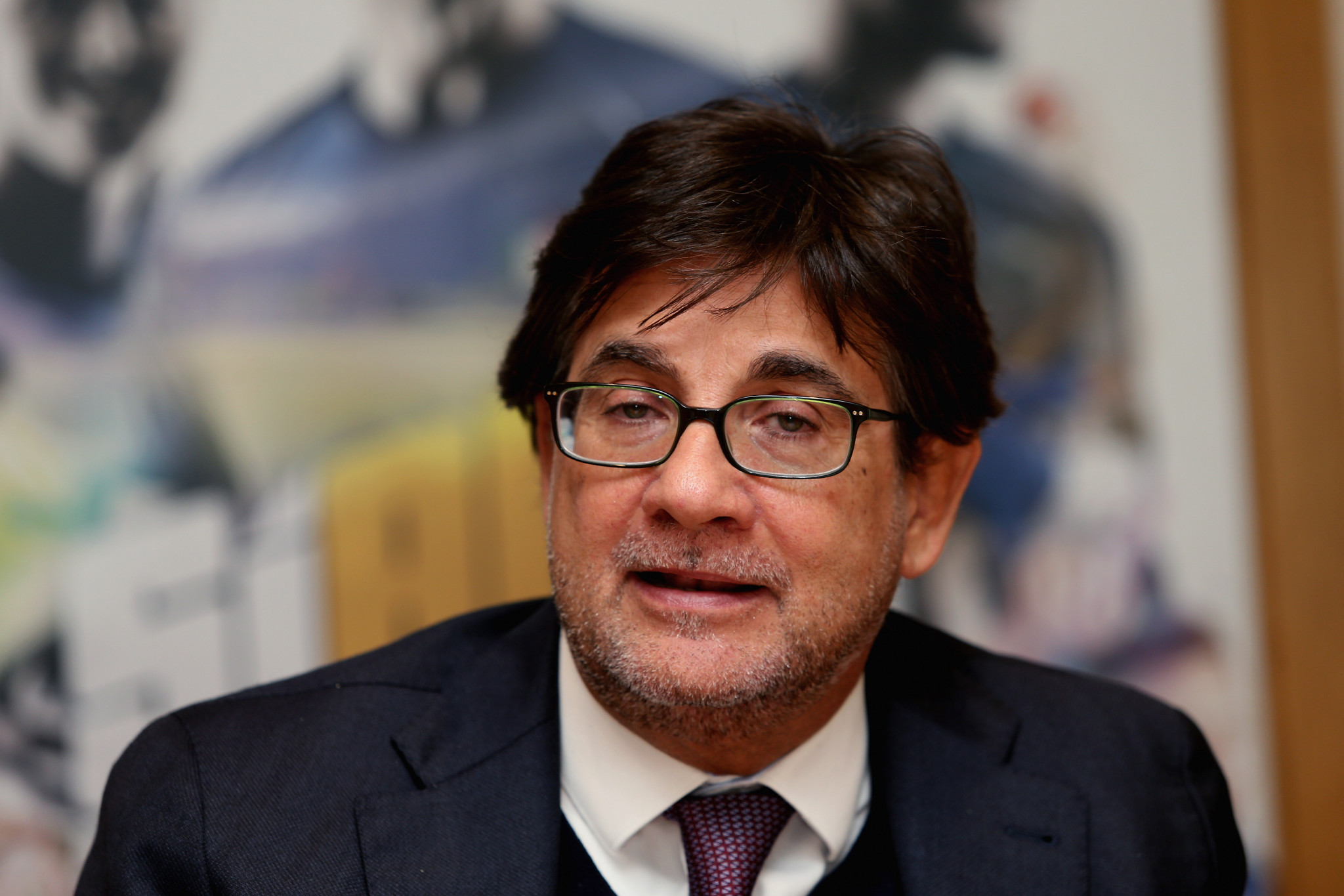 Pancalli re-elected Italian Paralympic Committee President