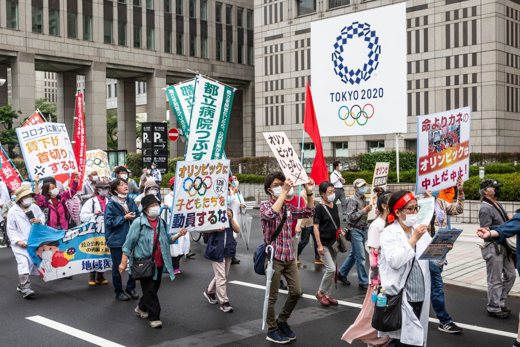 The Tokyo 2020 Olympics and Paralympics are being organised amid a backdrop of public opposition due to the COVID-19 crisis ©Getty Images