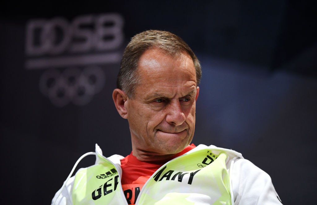 The allegations against the DOSB leadership have put pressure on President Alfons Hörmann ©Getty Images