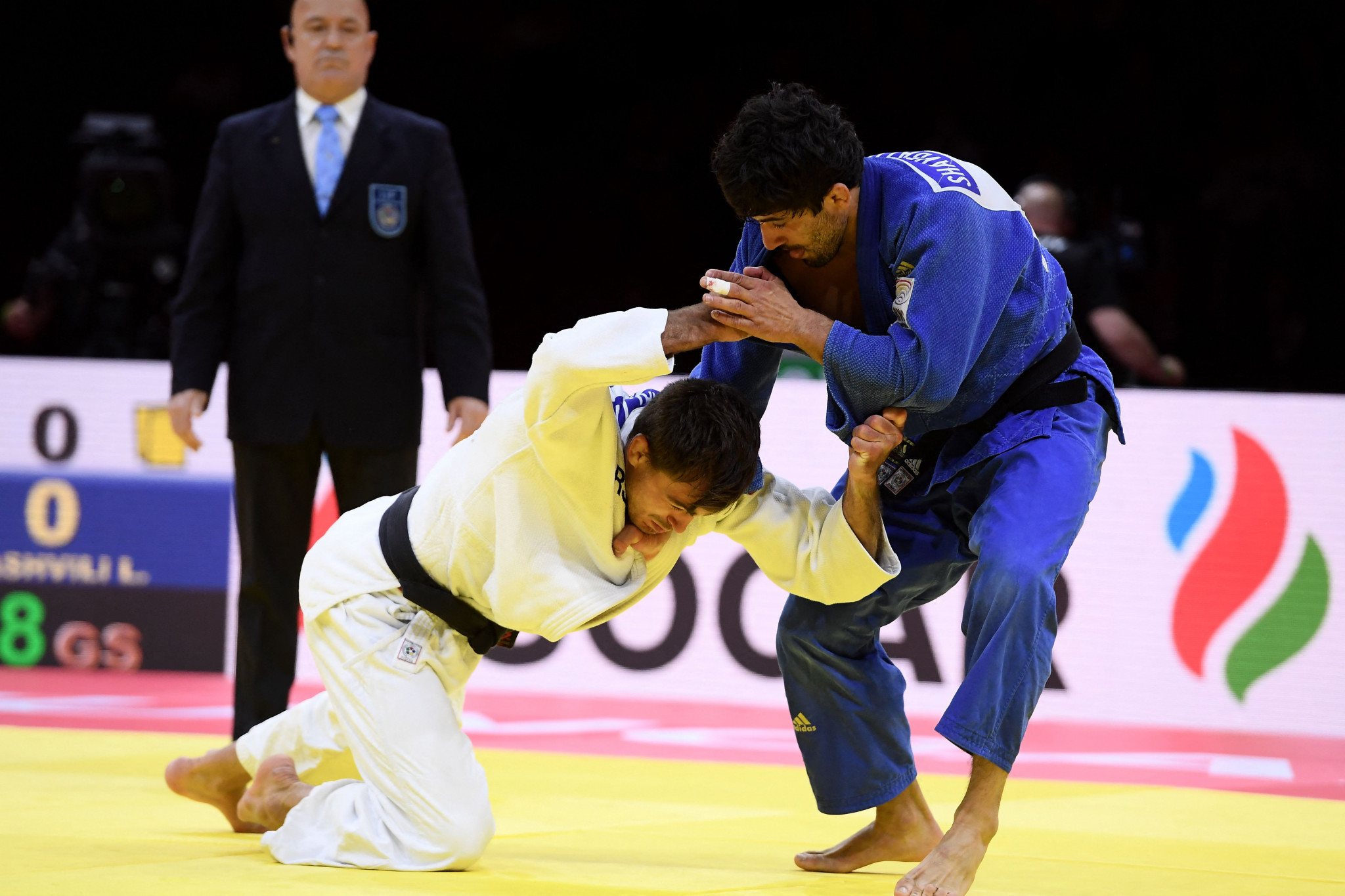 IJF World Championships: Day three of competition