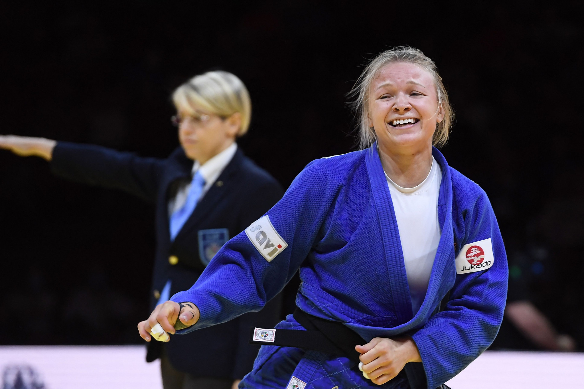 Klimkait secures Olympic place after taking Canadian rival's world judo crown