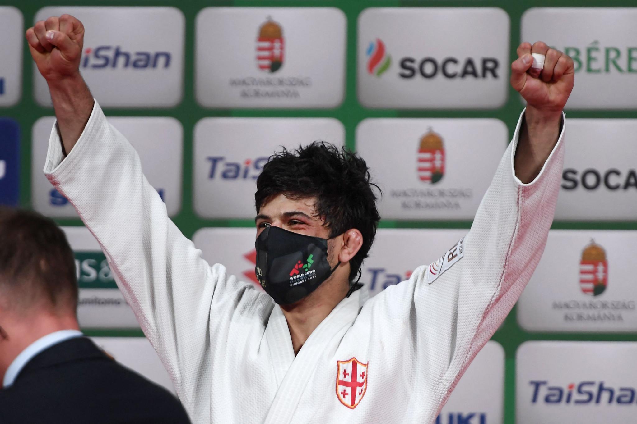 Shavdatuashvili and Klimkait become world judo champions for first time