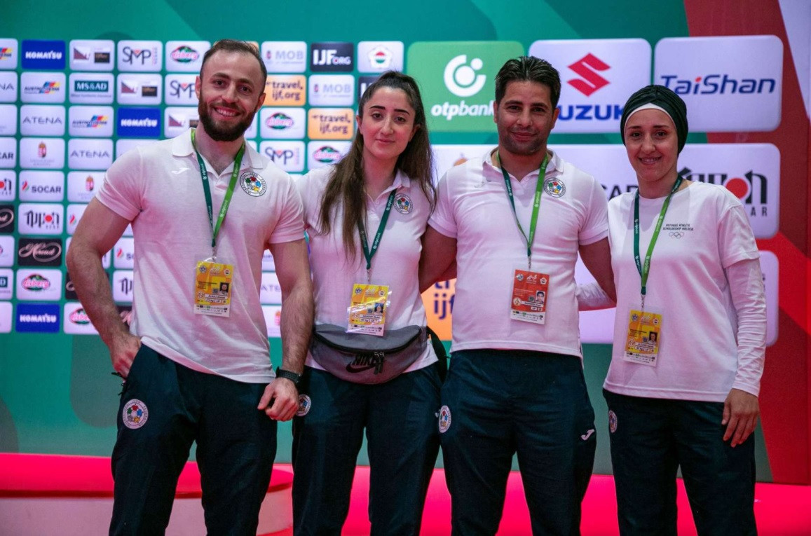 "Six refugee judokas ""living our dream"" after Tokyo 2020 selection"