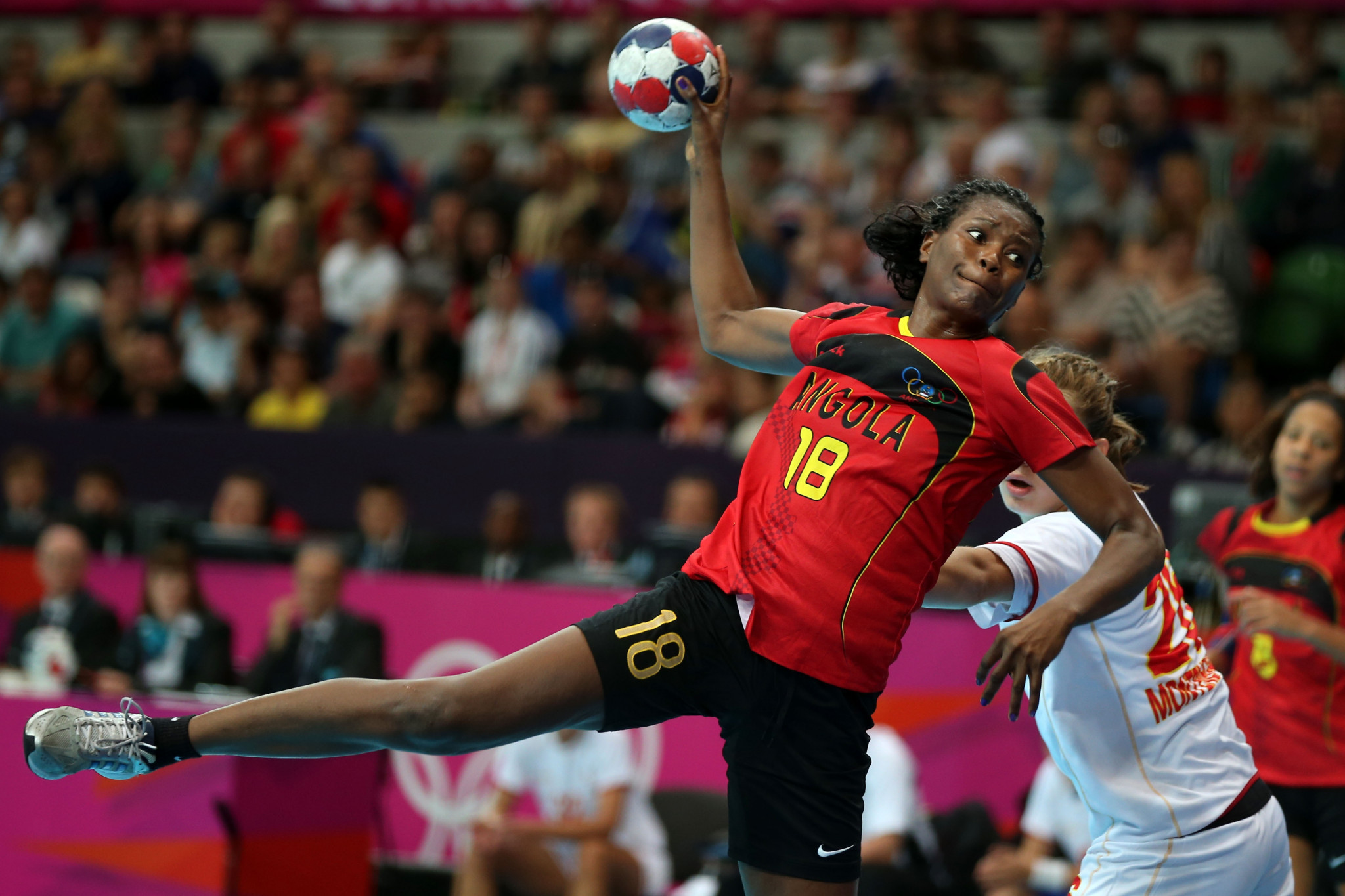 Angola will be defending their title at the African Women's Handball Championship now underway at Yaoundé in Cameroon ©Getty Images