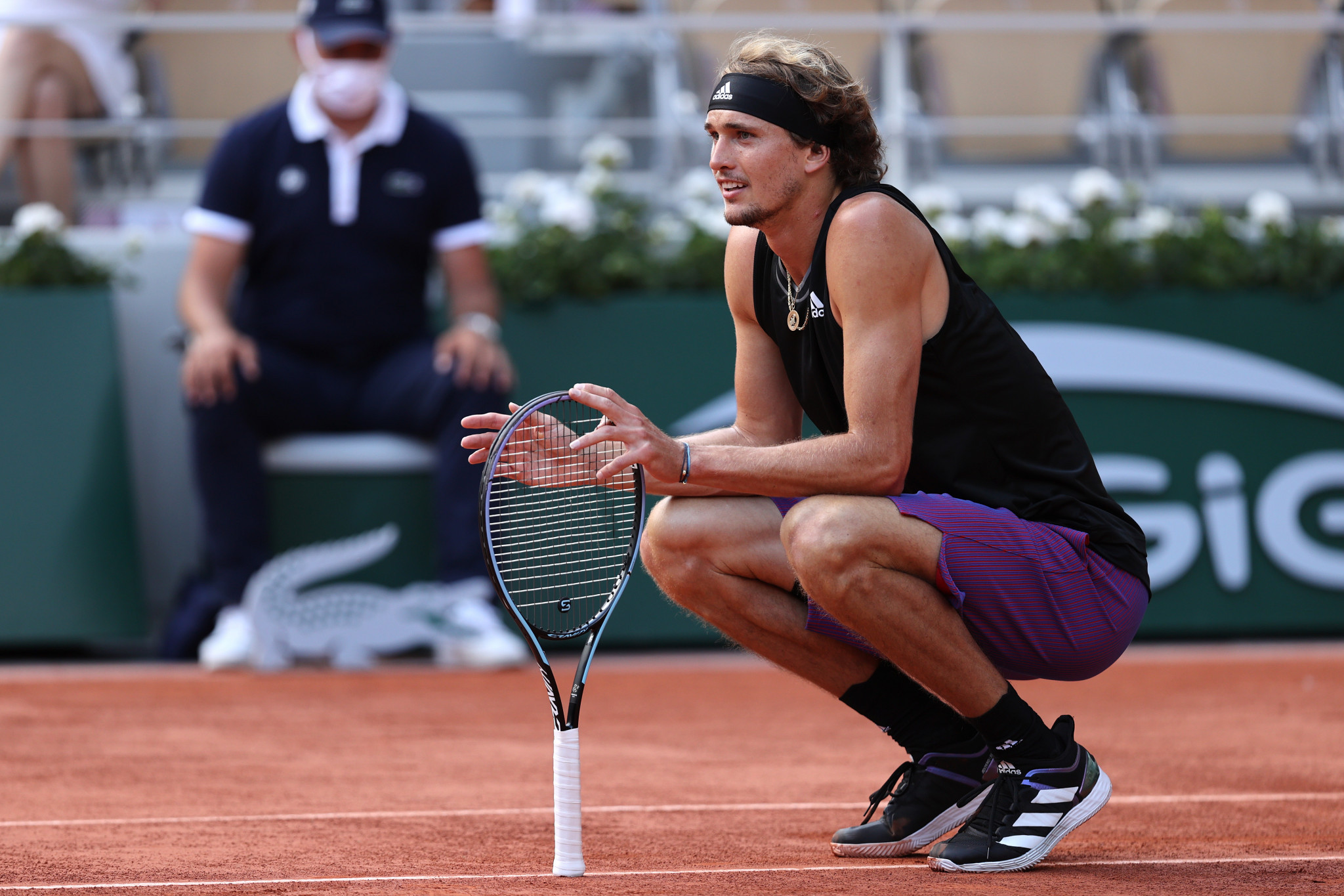 Sixth seed Alex Zverev defeated Alejandro Davidovich Fokina for the loss of just six games ©Getty Images