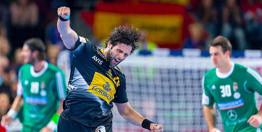 Spain edge battling Hungary at European Men's Handball Championship