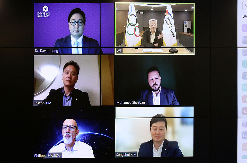 Thirty referees take part in World Taekwondo's virtual training for Tokyo 2020