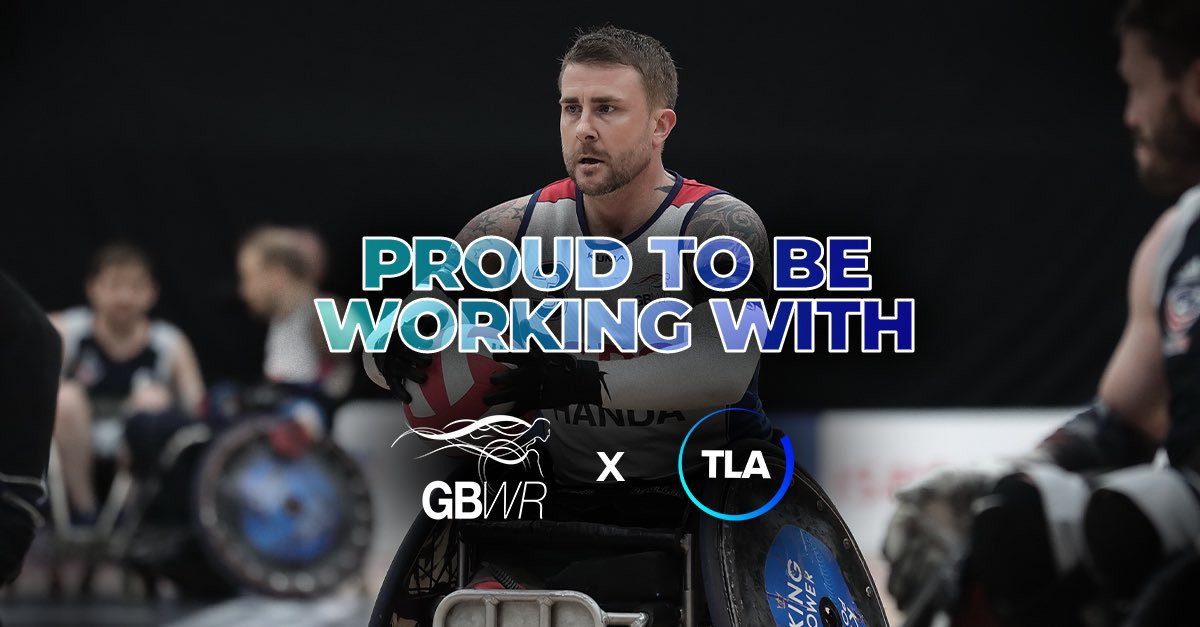 Britain's wheelchair rugby team will be supported by TLA Worldwide ©GBWR