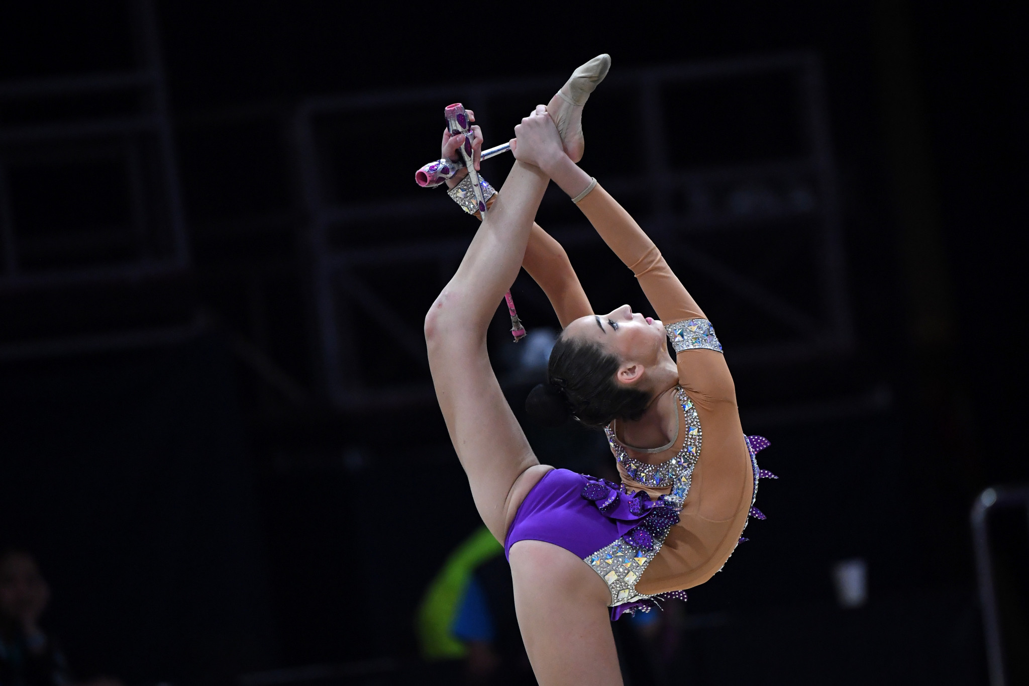 Alina Adilkhanova is the new Asian clubs champion ©Getty Images