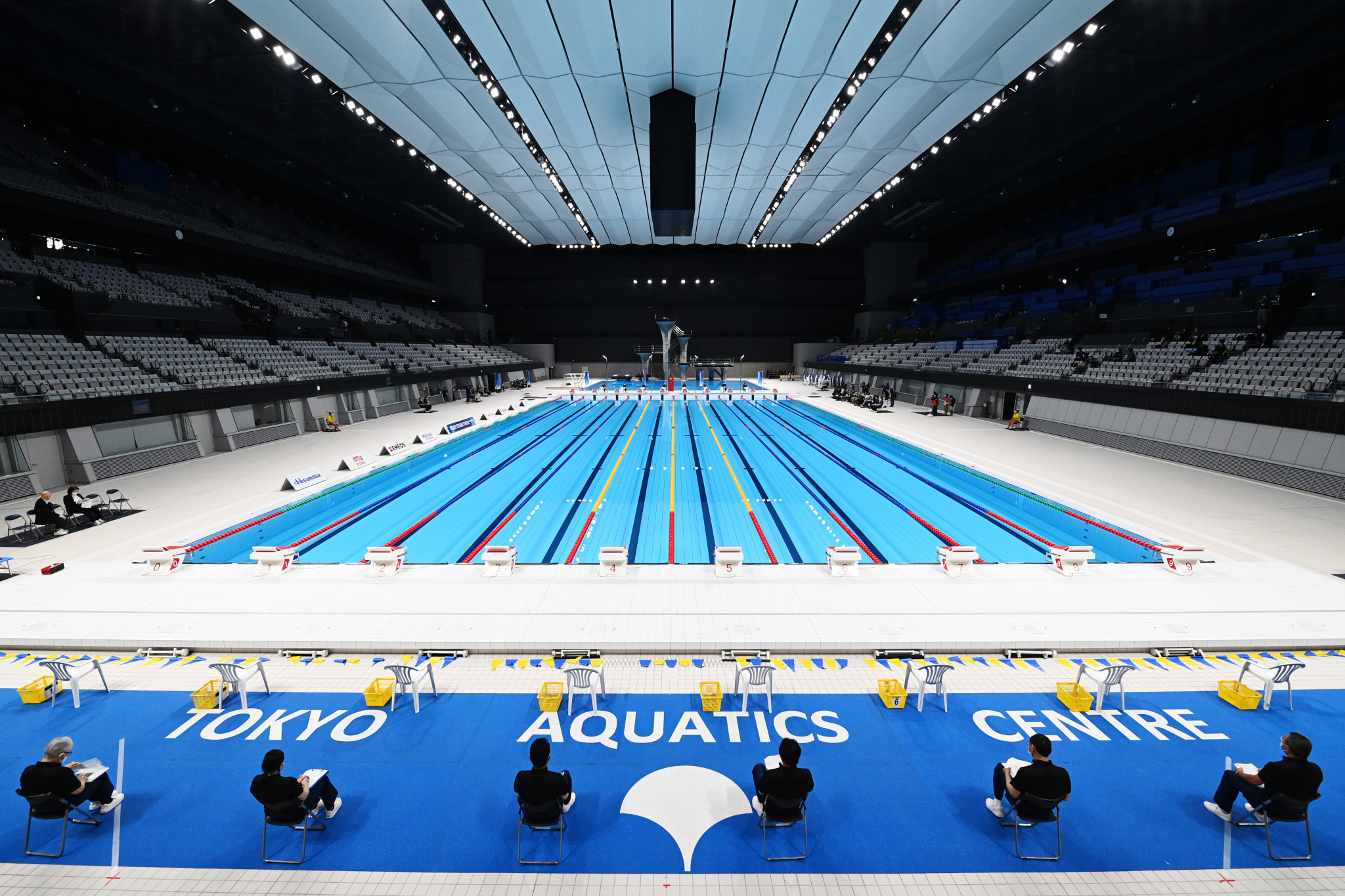 Tokyo was originally due to host the Artistic Swimming Olympic Games Qualifying Tournament ©Getty Images